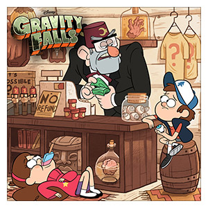 Gravity Falls. Размер: 60 х 60 см